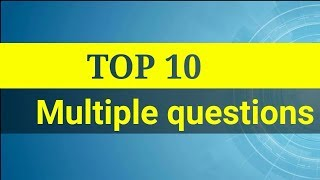 ఆడిటింగ్ Top 10 Multiple questions JAO, PG Set M.com KU, OU  University's