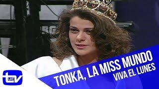 Tonka Tomicic es elegida Miss Mundo   Viva el Lunes