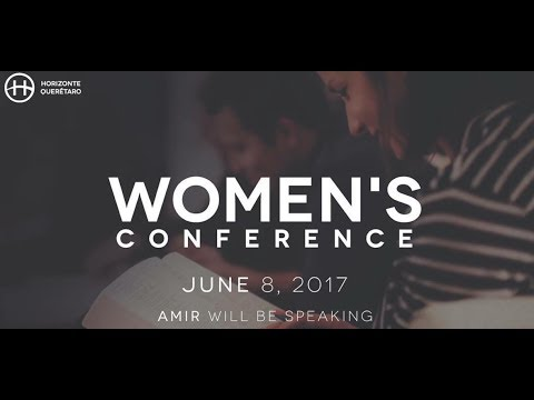 Amir teaching at Horizonte Querétaro Women's Conference, Mexico, June 9, 2017