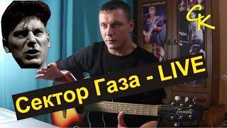 Как играть Сектор Газа - Live (Урок на песню)