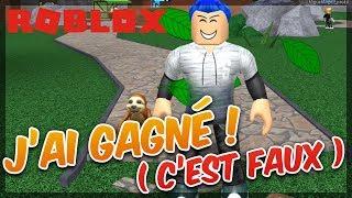J'AI TOUT GAGNE ! ( C'est faux ) - Roblox Epic Minigames