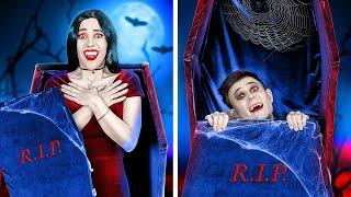 KISA BOYLU VAMPİR VE UZUN BOYLU VAMPİR || 123 GO! Vampirlerin Yaşadığı Sevimli Ve Komik Durumlar