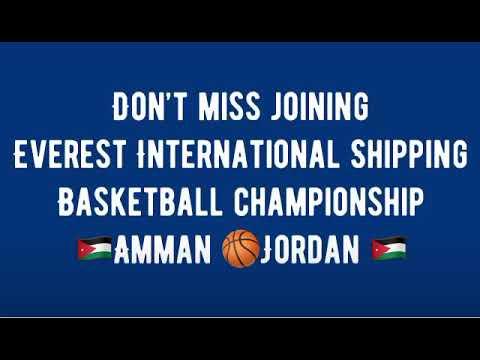 Basketball championship 🏀Jordan 🌎