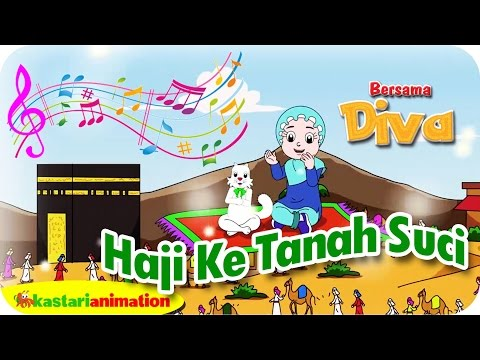HAJI KE TANAH SUCI - Lagu Anak Indonesia - HD | Kastari Animation Official