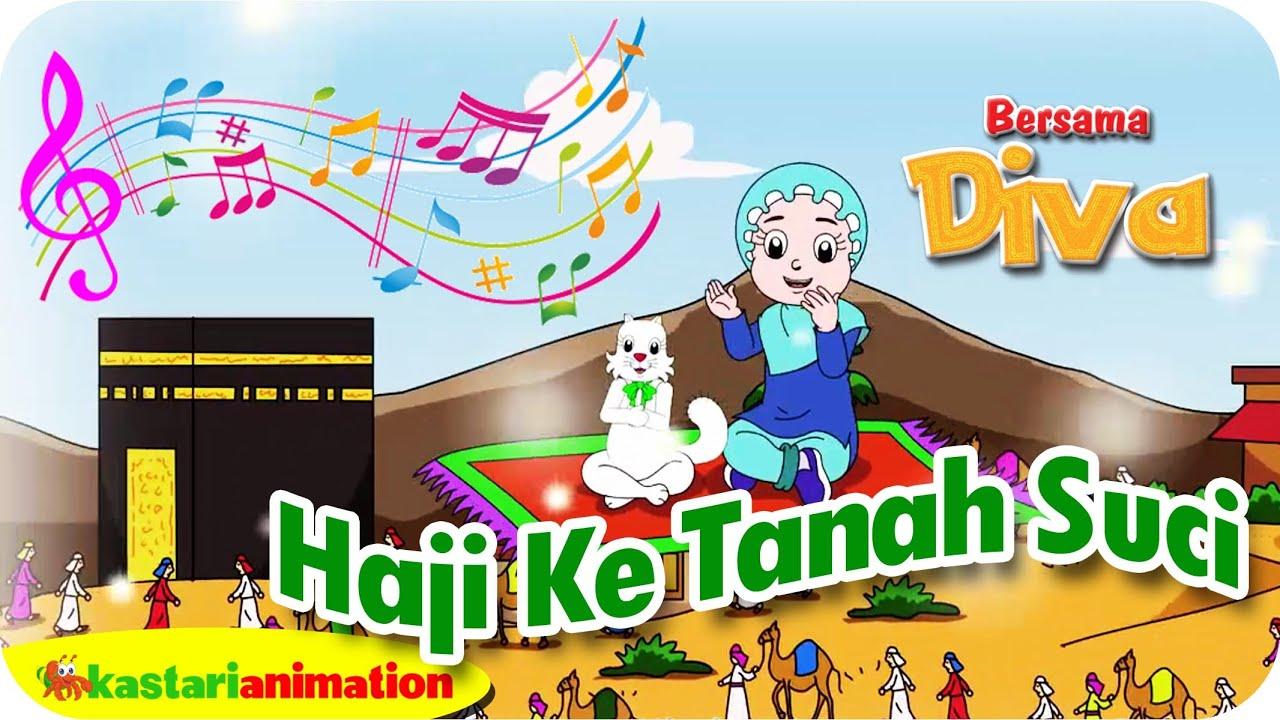 HAJI KE TANAH SUCI Lagu Anak Indonesia HD Kastari Animation
