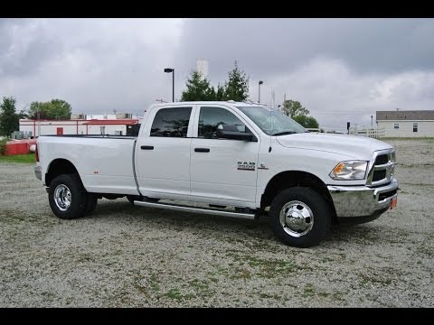 2014 ram 3500 slt truck white diesel dually for sale dayton troy piqua sidney ohio 26848t. Black Bedroom Furniture Sets. Home Design Ideas