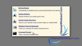 Windows 7 Tips and Tricks - Create a System Recovery DIsc