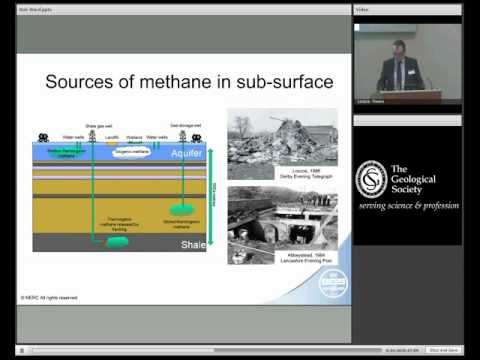 Can shale gas be extracted safely? Groundwater, well integrity, use of water. With Doctor Rob Ward