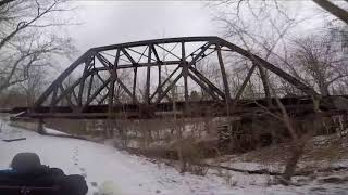 Dog Entertainment - Dog Relaxation - Dog Music with Husky FurWheeling In The Snow on the C&O Canal
