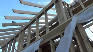 Как сделать мансардную крышу . Часть 1.