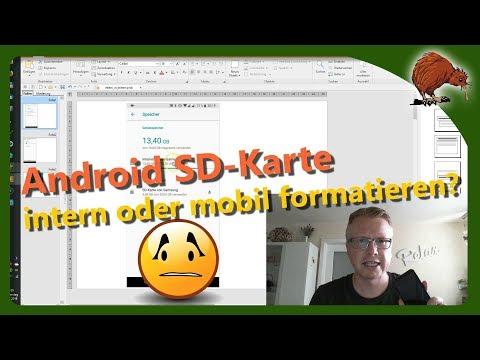 Sd Karte Formatieren Android.Android Sd Karte Intern Oder Mobil Formatieren Youtube