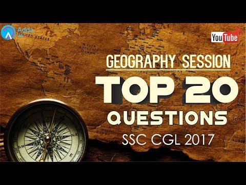 SSC CGL 2017 | Geography (P1) | General Studies | Online SSC CGL Coaching