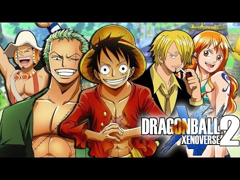 One Piece Characters in Dragon Ball Xenoverse 2! (How To Create the Strawhats!)
