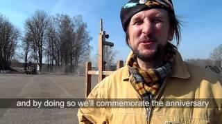 Алесь Пушкін. Выстава ў Бабры 25 сакавіка 2014 г.