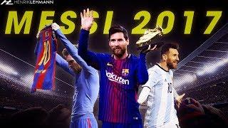 Lionel Messi's 2017 In 5 Minutes