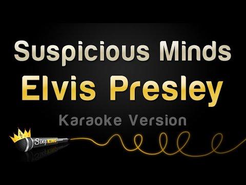 Elvis Presley - Suspicious Minds (Karaoke Version)