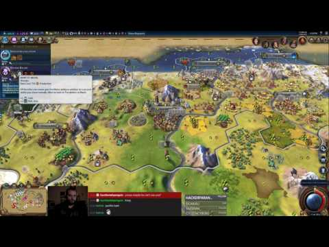 Civilization 6 Multiplayer 7: Germany [2/3] ( 6 Player Free For All) Gameplay/Commentary