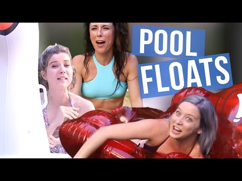 5 Trendy AF Pool Floats (Beauty Break)