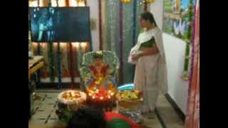 Gayathri bhogi pallu Vedio on 13 01 2014