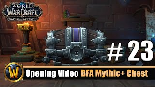 vuclip Opening Video: BFA Mythic+ Chest #23 - Season 2