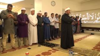 IMAM SOLAT TARAWIH USTAZ AHMAD SHUKRI BADARUDIN SURAU AL-BARAKAH MENARA KEMBAR BANK RAKYAT