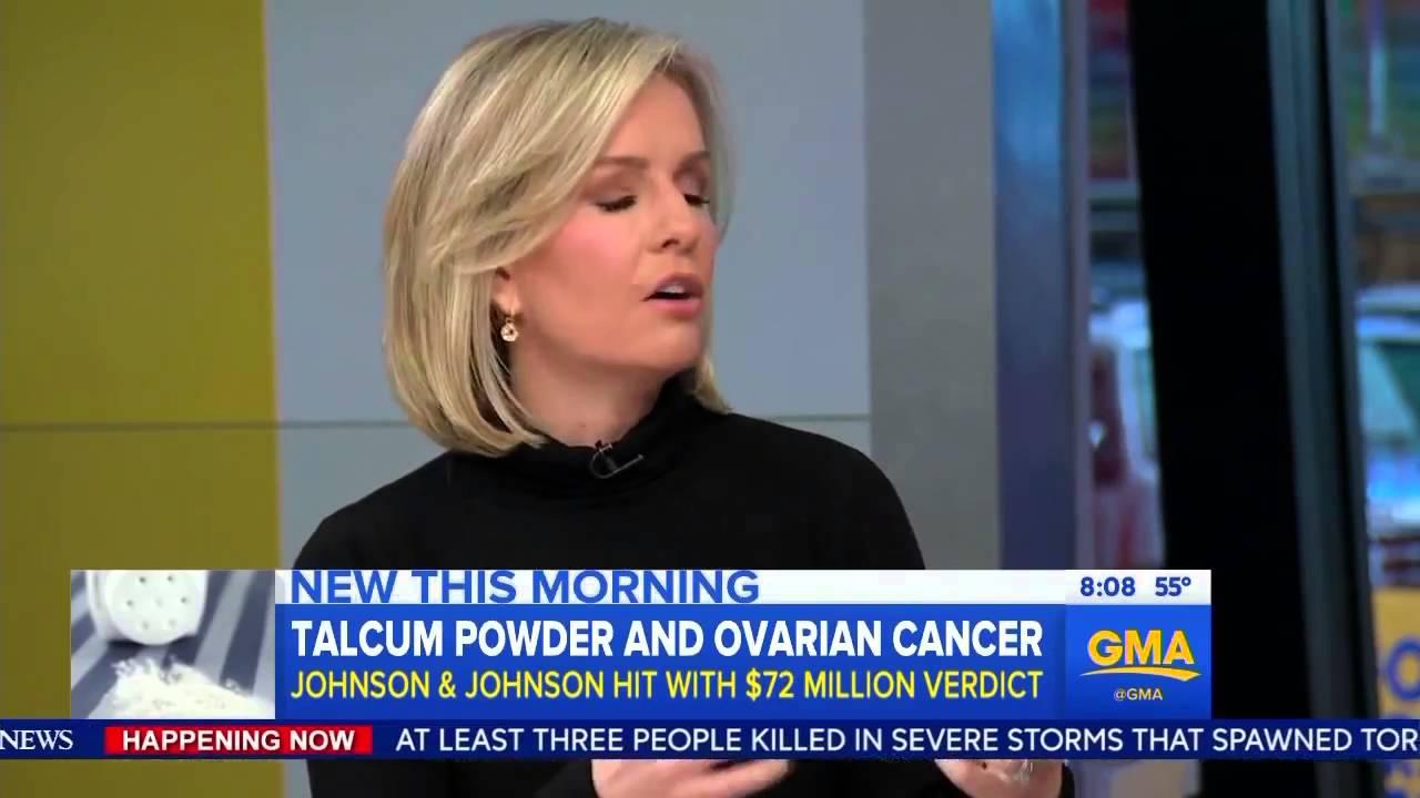 Johnson Johnson Baby Powder Can Cause Cancer Youtube