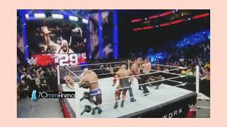 Royal Rumble HIGHLIGHTS /TILL I COLLAPSE /ROMAN AND ROCK