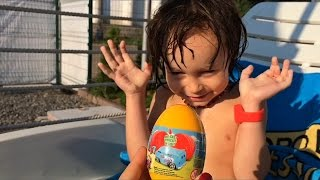 игры в бассейне Киев ВДНХ Swimming in pool game for kids video Unboxing(, 2016-08-02T17:55:17.000Z)