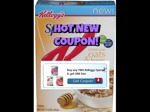 New Printable Coupon:  Buy 2 Get 1 Free Special K Cereal!