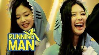 Jennie Looks Like a Baby Shark..♥♥ So Cute!!!! [Running Man Ep 413]