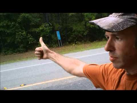 Hitchhiking from Hemphill, Texas to the Toledo Bend spillway