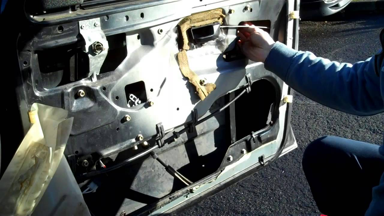 Vw Golf Mk2 Fitting Electric Window Regulator Motor Youtube 8v Engine Diagram