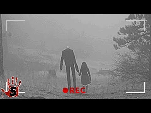 5 Scary Moments The Slenderman Was Caught On Camera