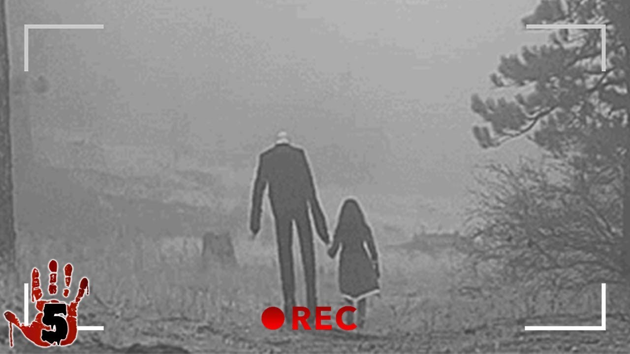 Download 5 Scary Moments The Slenderman Was Caught On Camera
