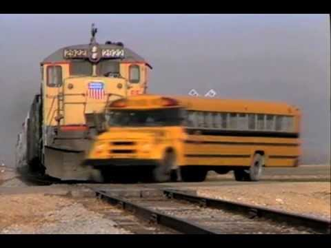 School Bus Train Crash Otto S Tips For The School Bus Driver Youtube
