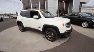 2016 Jeep Renegade Latitude | Alpine White | GPD71262 | Mt Vernon | Skagit