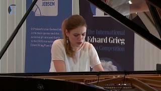 OLGA STEZHKO: Alexander Scriabin, Five Preludes, Op. 74 in Grieg Competition 2018