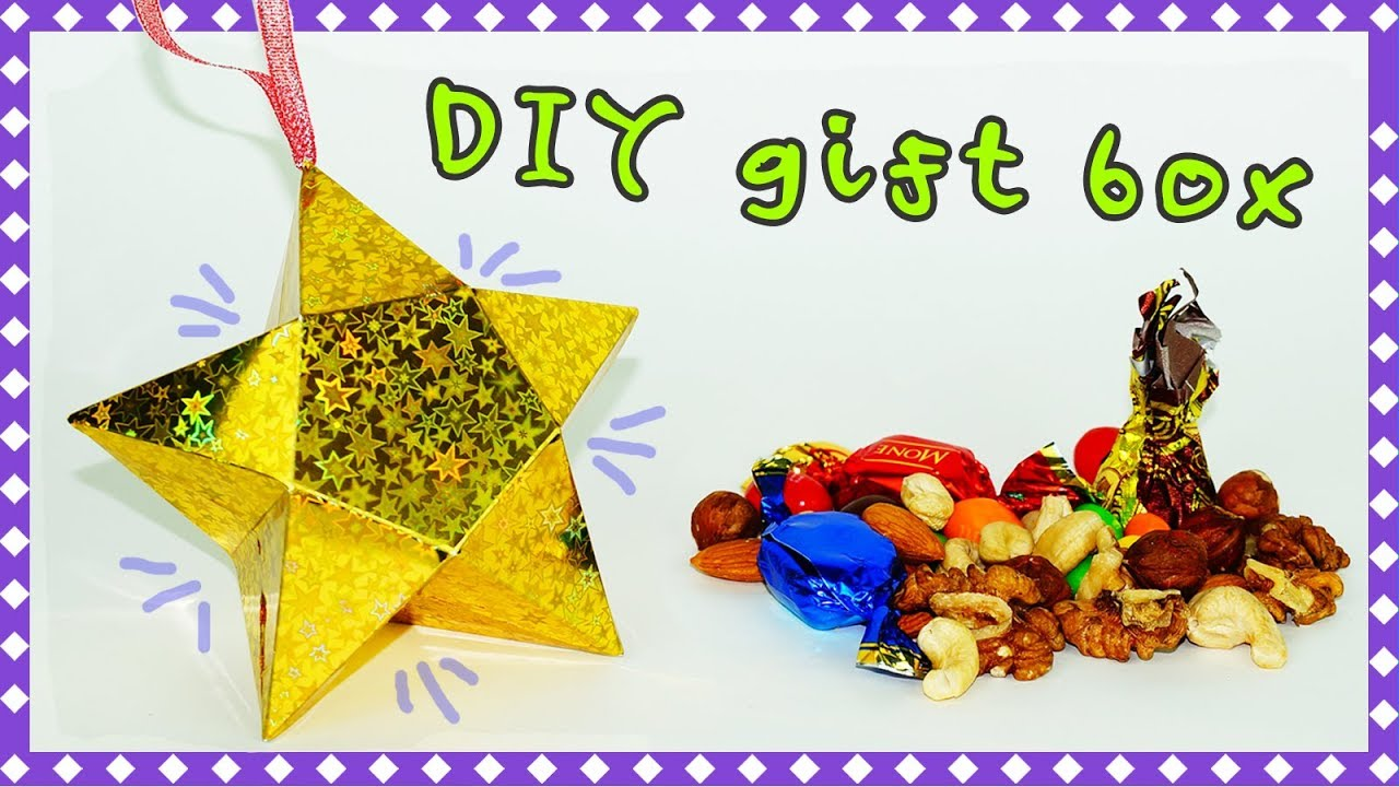 Christmas gifts DIY | DIY paper crafts idea | Star gift box ...