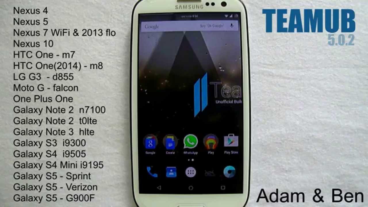Galaxy Note 2 N7100 receives Android 5 1 1 Lollipop via TeamUB ROM