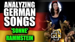 What is SONNE by RAMMSTEIN about? - A German explains 🤘 English lyrics translation & analysis