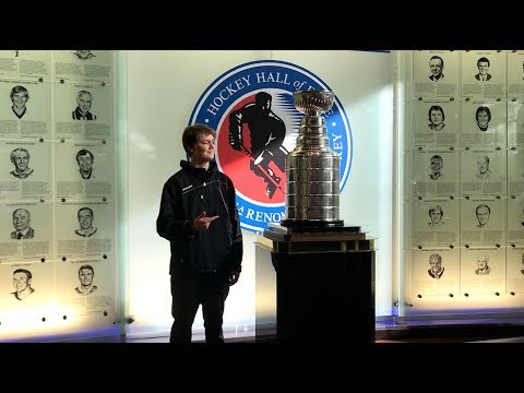 Visiting the Hockey Hall of Fame - Sam Coons