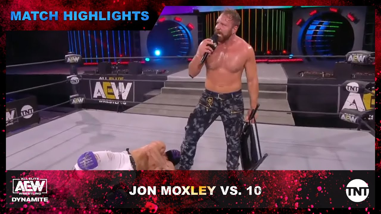 Download AEW Champion Jon Moxley Defeats 10 and Calls Out Mr. Brodie Lee