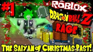 LE SAIYAN DE CHRISTMAS PAST! Roblox: Dragon Ball Z Rage (Mise à jour de Noel) - Episode 1