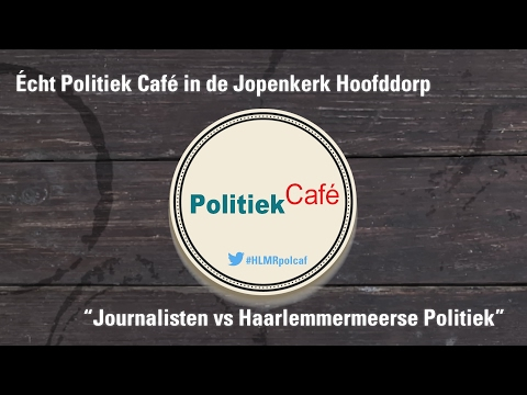 Écht Politiek Café in de Jopenkerk Hoofddorp