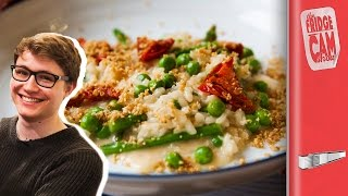 Restaurant Style Risotto Recipe ft Charlie McDonnell | FridgeCam