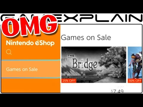OMG Nintendo Switch's eShop Adds
