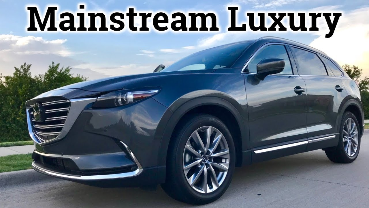 2018 2019 mazda cx 9 signature review new features 360 camera carplay more youtube. Black Bedroom Furniture Sets. Home Design Ideas