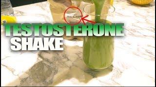 Testosterone Boosting Vegan Protein Smoothie | Simple Recipe