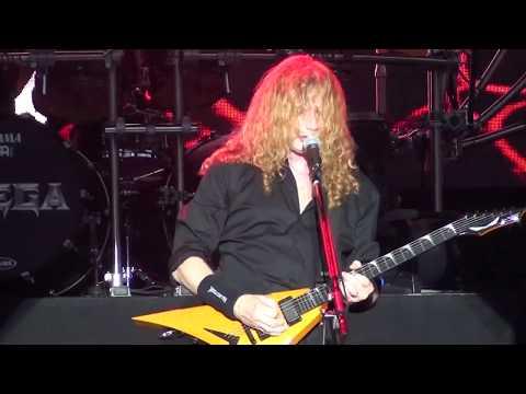 Megadeth  Dawn Patrol Poison Was the Cure  @ Gröna Lund, Stockholm 2017