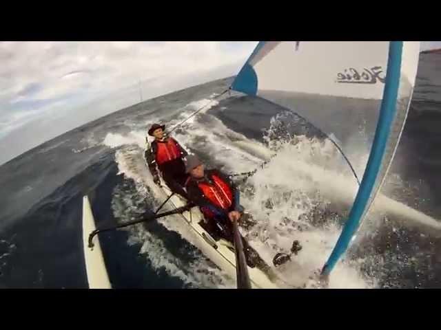Hobie Mirage Tandem Island surfing speed 12 knots